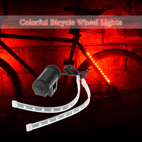 Buy Wheel Lights Bike Bicycle Colorful Light 2LED Lamps Front Rear Fork