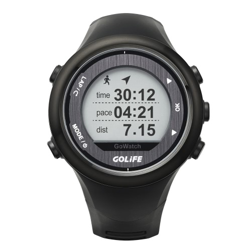 GOLiFE GoWatch 820i Outdoor GPS Smart Sports Watch Rechargeable Running Cycling Swimming Hiking Triathlon 5ATM Water Resistant