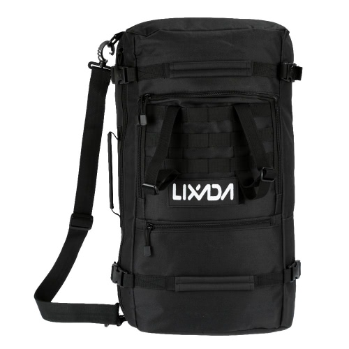 Buy Lixada Multifunction Outdoor Military Tactical Backpack Hiking Camping Trekking Shoulder Bag 45L