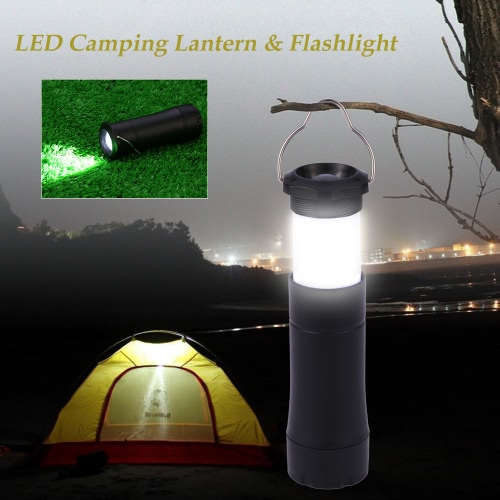 Buy Bright LED Light Portable Outdoor Camping Lantern Tent Emergency Lamp Campsite Mini Flashlight Torch