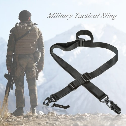 Buy Docooler Military Tactical Safety Two Points Outdoor Belt Carbine Sling Adjustable Strap