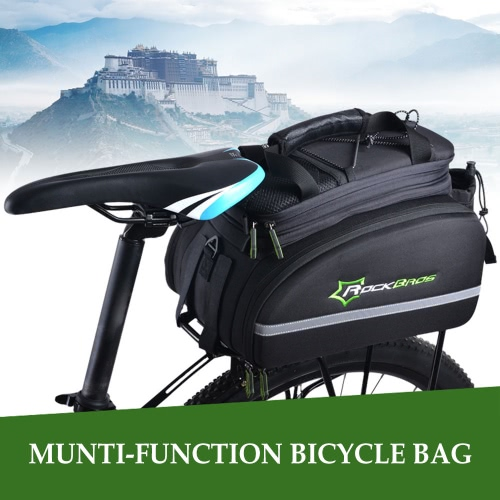 Buy 12L Cycling Rear Back Saddle Pack Bag Bicycle cycle Multi-functional Trunk Pannier Bike Carrier Bags