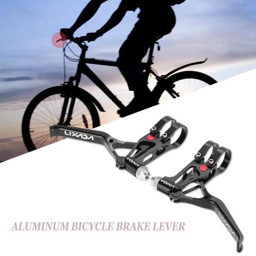 Buy Lixada Bicycle CNC Aluminum Brake Lever MTB Mountain Bike 3 Fingers Mechanical Levers 1 Pair