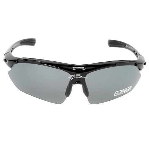 Buy ROCKBROS 100% UV Blocking Polarized Cycling Hiking Climbing Sunglasses Eyewear Sun Glasses Goggle 5 Lenses