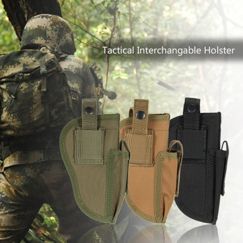 Buy Tactical Outdoor Holster Right Left Interchangable Mag Pouch Military Gear Accessory Utility Tool