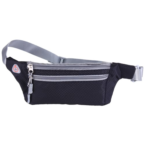 Buy Outdoor Sports Movement Anti Theft Pocket Men Women Multifunctional Money Cell Phone Belt Bag Waterproof Marathon Running Zip Waist Pouch Camping Hiking
