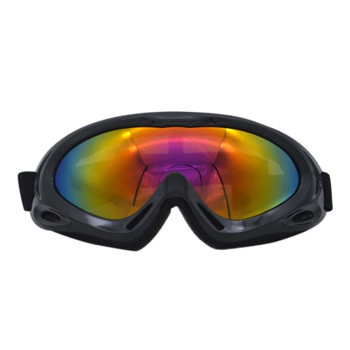 Buy Windproof Mirror X400 Ski Glasses Monolayer Sand-proof Snow-proof Outdoor Cycling Motorcycle Goggles