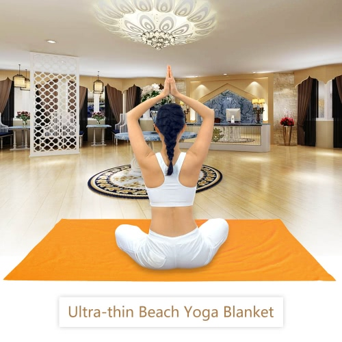 Buy Lixada Beach Blanket Yoga Towels Ultra-thin Conner Anchor Pockets Large Fits Two