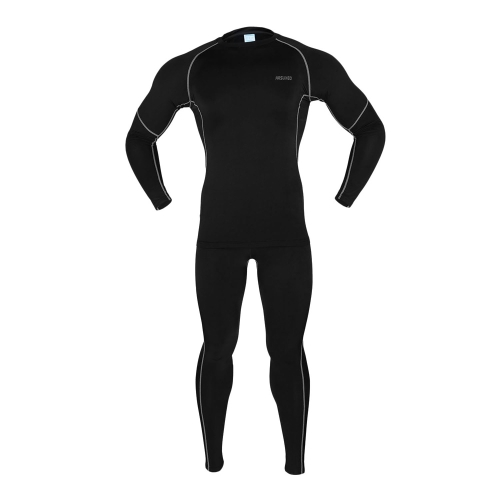 ARSUXEO Exercise Compression Jersey & Tights Quick-dry Base Layers Running Fitness Bodybuilding Men Clothes Shirt Pant Jersey Suit