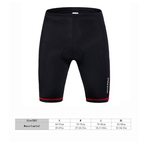 Buy Women Outdoor Breathable 3D Silica Gel Padded Bicycle Shorts Cycling Pants
