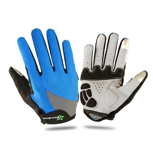 ROCKBROS Unisex Breathable Cycling Gloves Full Finger Gloves Thermal Gloves Touch Screen Gloves Motorcycling Skiing Hiking Outdoor Racing Riding