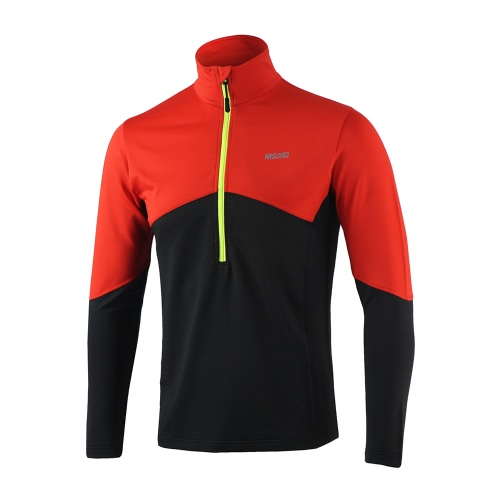 Buy Arsuxeo Long Sleeve Cycling Coat Jacket Bicycle Bike Outdoor Spring Summer Sportswear Cloth Zippered Breathable