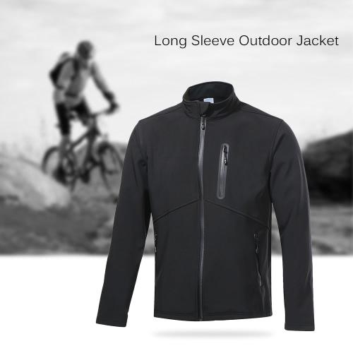 Buy Arsuxeo Men's Outdoor Coat Jacket Thermal Fleece Full Zip Sportswear Outwear Autumn Winter Cycling Running Jogging
