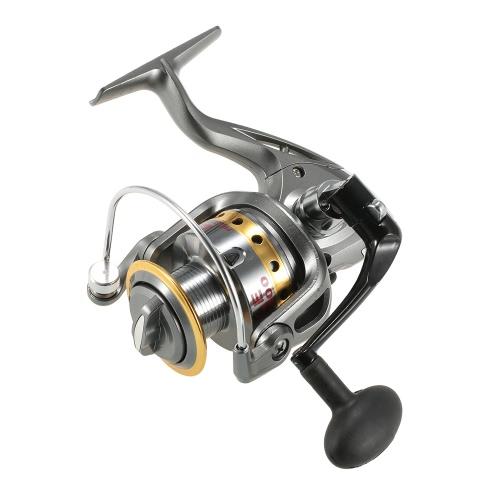 Lixada Metal Fishing Spinning Reel Handle Grip Fishing Reel Handle CNC Fold Handle Rocker Arm