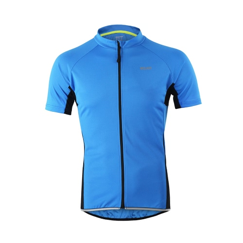 Buy Arsuxeo Men's Short Sleeve Cycling Jersey Breathable Shirt Sportswear Quick Dry MTB Bike