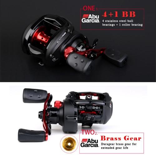 ABU GARCIA Black Max3 BMAX3 Left Right Hand Bait Casting Fishing Reel 5BB 6.4:1 Max Drag 8kg Baitcasting Reel