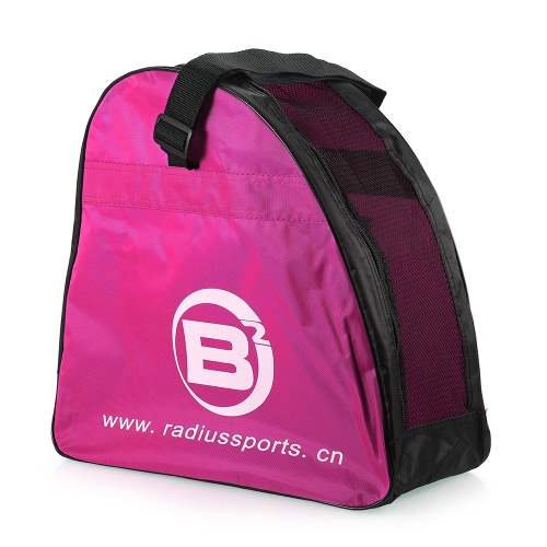 Buy Kids Adult Roller Skate Shoes Bag Portable Carry Shoulder Big Capacity High Bounce Rollerblades Hockey Figure Case Holder