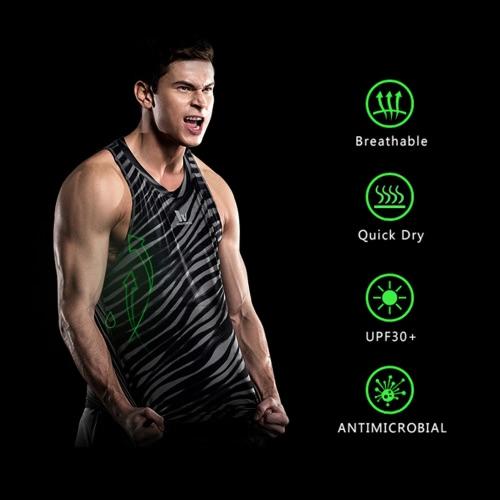 Buy Quick-dry Men Bodybuilding Clothing Fitness Top Mens Sleeveless Shirt Sports Vest