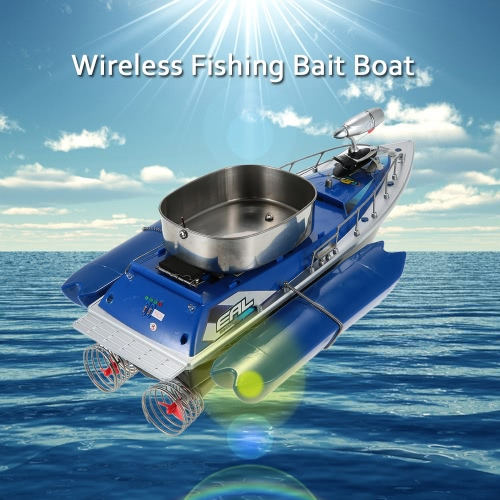 Buy Wireless Fishing Lure Bait Boat High Speed Fish Finder Hook Remote Control Finding