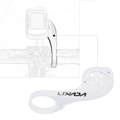 LIXADA Cycling Bicycle Bike Computer Stopwatch Handlebar Mount for Garmin Edge 200 500 800