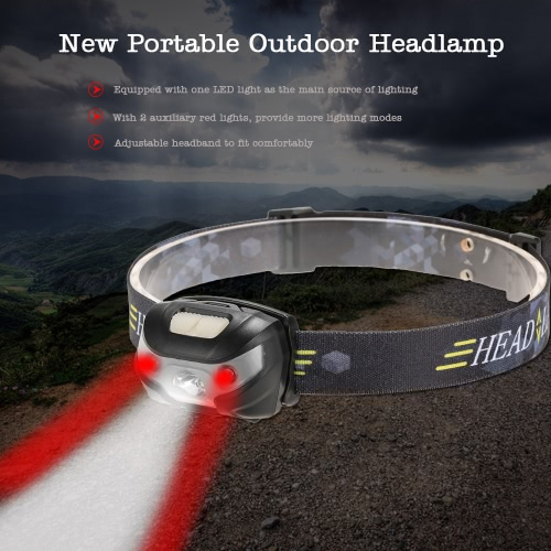 Buy Portable Outdoor 3000LM Headlamp Headlight Head Lamp Light Torch Camping Cycling Hiking