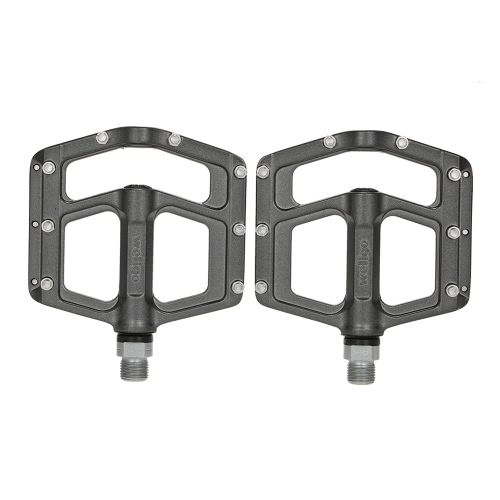 Buy Wellgo Lightweight Magnesium Alloy Bicycle Bike Pedal Wide Platform CR-MO Spindle 9/16u201d Thread Flat Pedals Accessories
