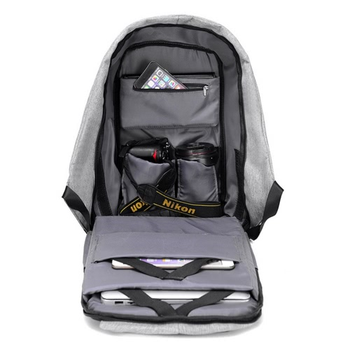 "USB Charging 17"" Laptop Backpack"