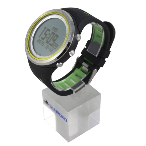 Buy SUNROAD FR800NA 5ATM Waterproof Pedometer Stopwatch Altimeter Barometer Thermometer Compass Timer LCD Display EL Backlight Outdoor Sports Watch Multifunction