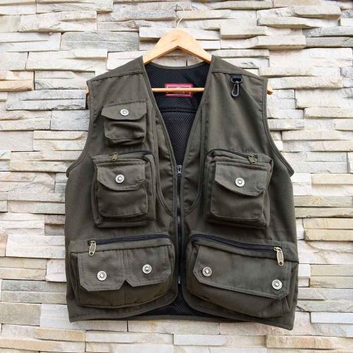 Men Outdoor Hiking Fishing Photography Director Camera Jacket Vest Waistcoat от Tomtop.com INT