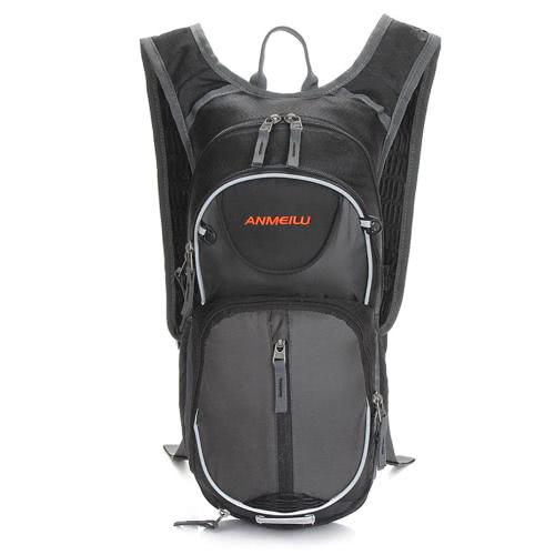 Buy Unisex Water Resistant Breathable Adjustable Shoulder Nylon Outdoor Sports Traveling Hiking Cycling Backpack 18L