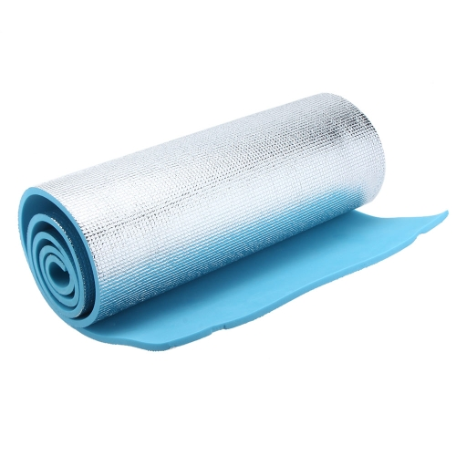 180×50/60×1cm EVA Foam Singleside Aluminum Foil Dampproof Yoga Mattress Outdoor Beach Camping Hiking Travel Picnic Sleeping Mat Pad Cushion от Tomtop.com INT