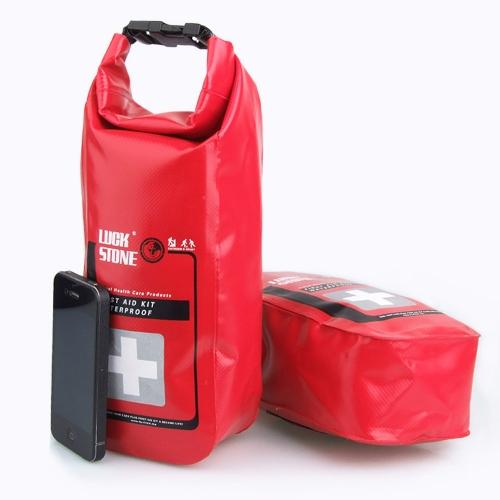 Buy 2L Waterproof Emergency First Aid Kit Empty Bag Medical Travel Dry Rafting Camping Kayaking
