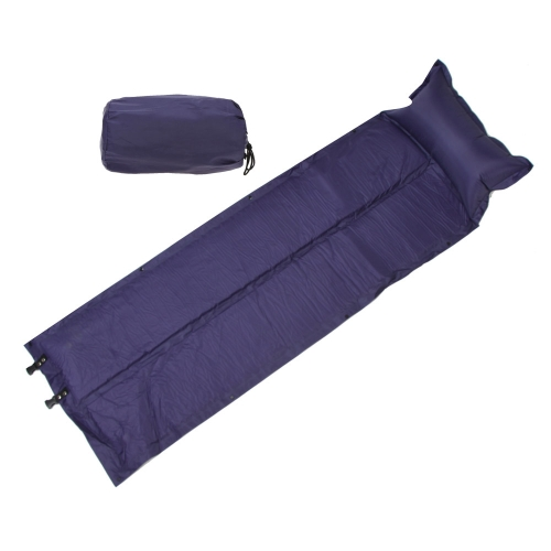 188 * 57 * 2.5cm Waterproof Automatic Inflatable Self-Inflating Dampproof Sleeping Pad Tent Air Mat Mattress with Pillow for Outdoor Camping от Tomtop.com INT