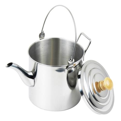 3000ml Outdoor Campeggio pentola bollitore in acciaio inox Bollitore Tea Pot del caffè