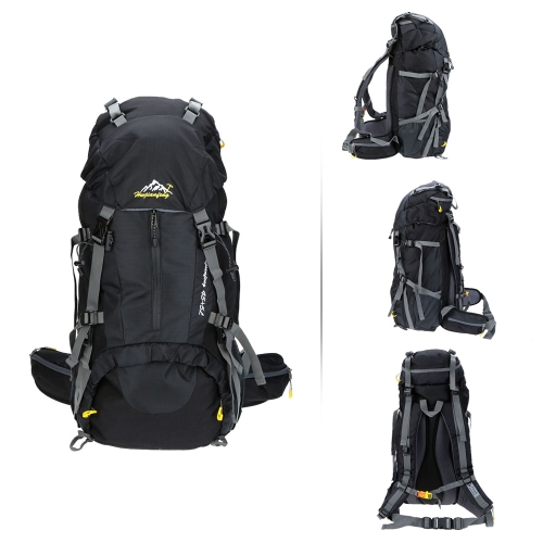 Buy 50L Waterproof Outdoor Sport Hiking Trekking Camping Travel Backpack Pack Mountaineering Climbing Knapsack Rain Cover