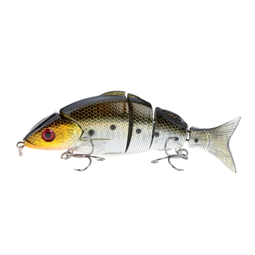 "12.5cm / 5"" 21g Bionic Multi Jointed Fishing Lure Lifelike Hard Bait Swimbait"