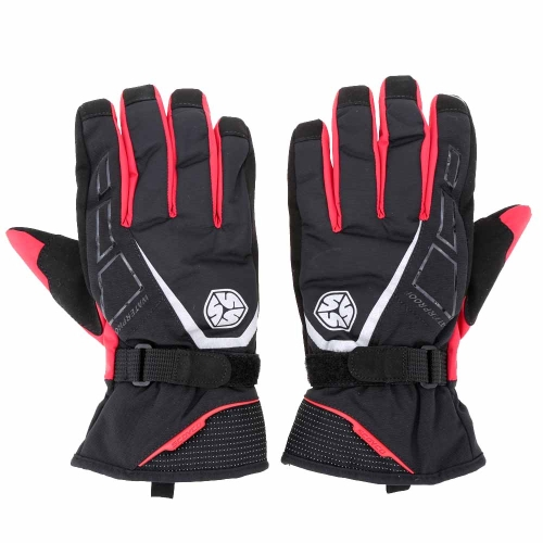 2Pcs Scoyco Long Cuff Winter Waterproof Windproof Thermal Motorcycle Racing Gloves