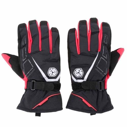 2Pcs Scoyco Long Cuff Winter Waterproof Windproof Thermal Motorcycle Racing Gloves