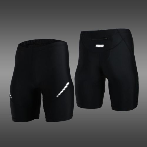 Buy ARSUXEO Stretch Breathable Quick-Drying Compression Shorts Men's Cycling Running Tights