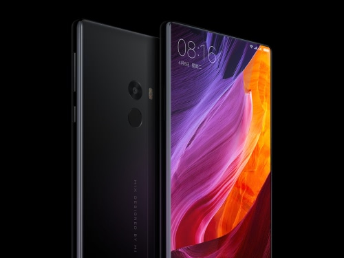 Buy Xiaomi MIX 4G Smartphone 6.4inch FHD Screen 2040*1080pixel Snapdragon 821 Octa-Core 2.35GHz CPU 4GB RAM 128GB ROM UFS2.0 16.0MP+5.0MP Camera 4400mAh Battery NFC QC3.0 Type-C Fingerprint ID Black Ceramic Body Cellphone