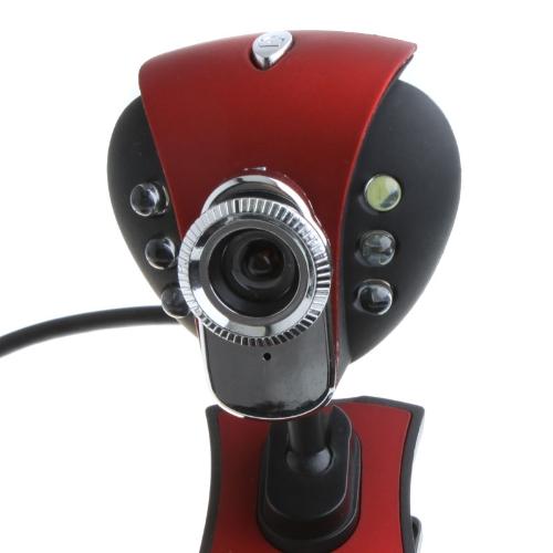 Buy USB 2.0 50.0M 6 LED PC Camera HD Webcam Web Cam MIC Computer Laptop