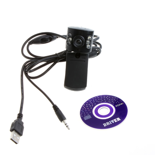 Buy USB 2.0 50.0M 6 LED PC Camera HD Webcam Web Cam MIC Computer Laptop