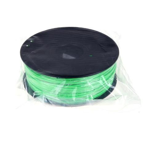 3D Printer Filament 1kg-2.2lb 1.75mm ABS Plastic for MakerBot RepRap Mendel Green