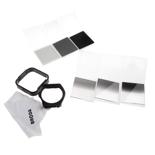 Buy 9in1 ND 2 4 8 Square Filter Kit Cokin P Series + Holder Lens Hood Microfiber Cleaning Cloth