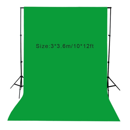 Buy 3 * 3.6m / 10 12ft Photography Screen Backdrop Muslin Cotton Video Photo Lighting Studio Background Green