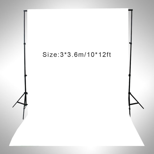 Buy 3 * 3.6m / 10 12ft Photography Screen Backdrop Muslin Cotton Video Photo Lighting Studio Background White