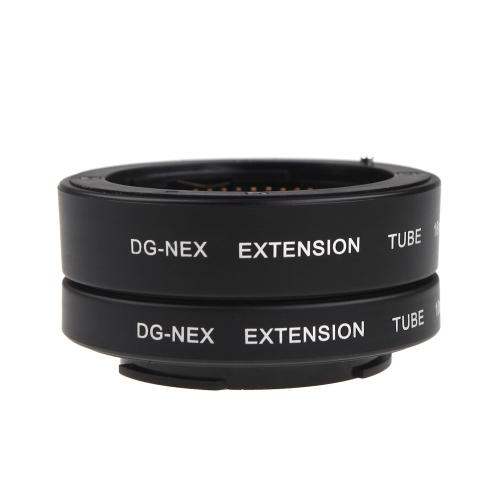 Buy Macro AF Auto Focus Extension DG Tube 10mm 16mm Set Ring Sony E-mout NEX NEX-6 A7R A3000