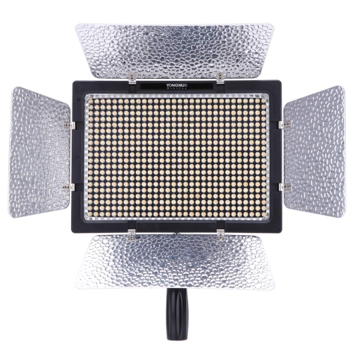 Yongnuo YN-600L 600 LED Studio Video Light 3200k-5500k Lamp Color Temperature Adjustable with Remoto Control for Canon Nikon Camcorder DSLR от Tomtop.com INT