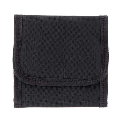 Buy Fotga Filter Lens Wallet Case Bag 3 Pockets 25mm - 82mm UV CPL Camera