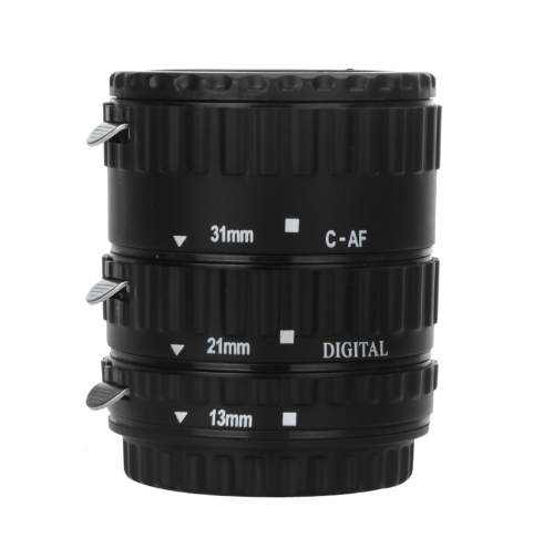 Buy TTL Auto Focus AF Macro Extension Tube Ring Plastic Canon EOS EF EF-S 60D 7D 5D II 550D